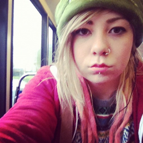emmapheee:  It smells like wet dog on the bus… (Taken with instagram)