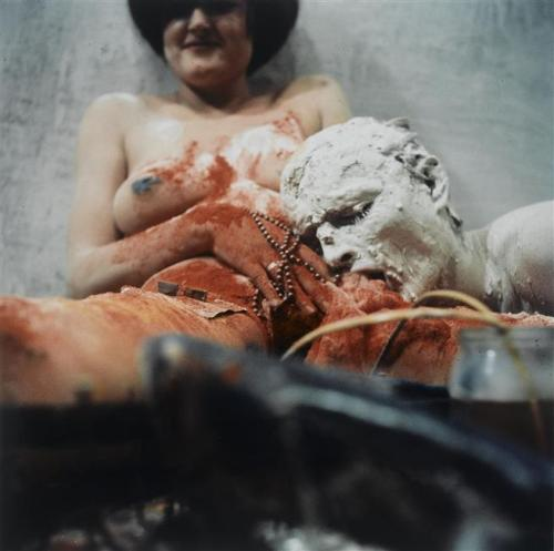 Transfusion by Günter Brus, 1965