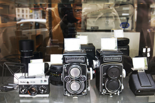 Such beauties .. Rolleiflex / Rolleicord