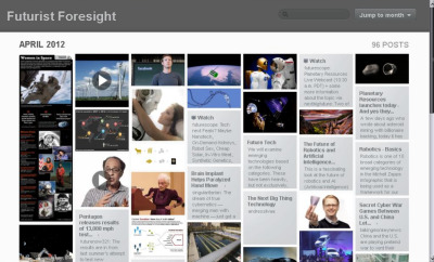 We have moved from this site to Futurist Foresight. Both have been running concurrently for some time, however the format and scope of Futurist Foresight is more detailed and more positioned to effectively communicate and inform.