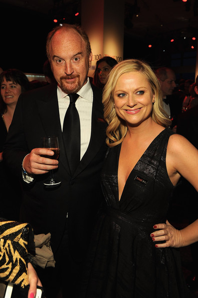 Time 100 Gala: Louis C.K. and Amy Poehler attend the Time 100 Gala, 04/24/2012