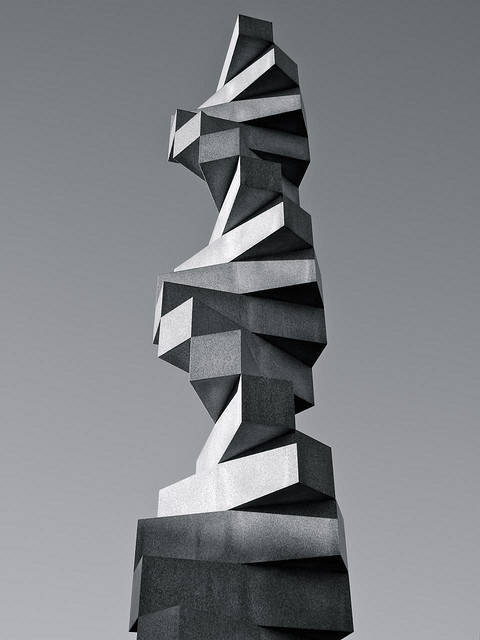 rekognitionoisuled:  Endlose Treppe by Max Bill, dedicated to Ernst Bloch's Principle of Hope Photo by joern.s
