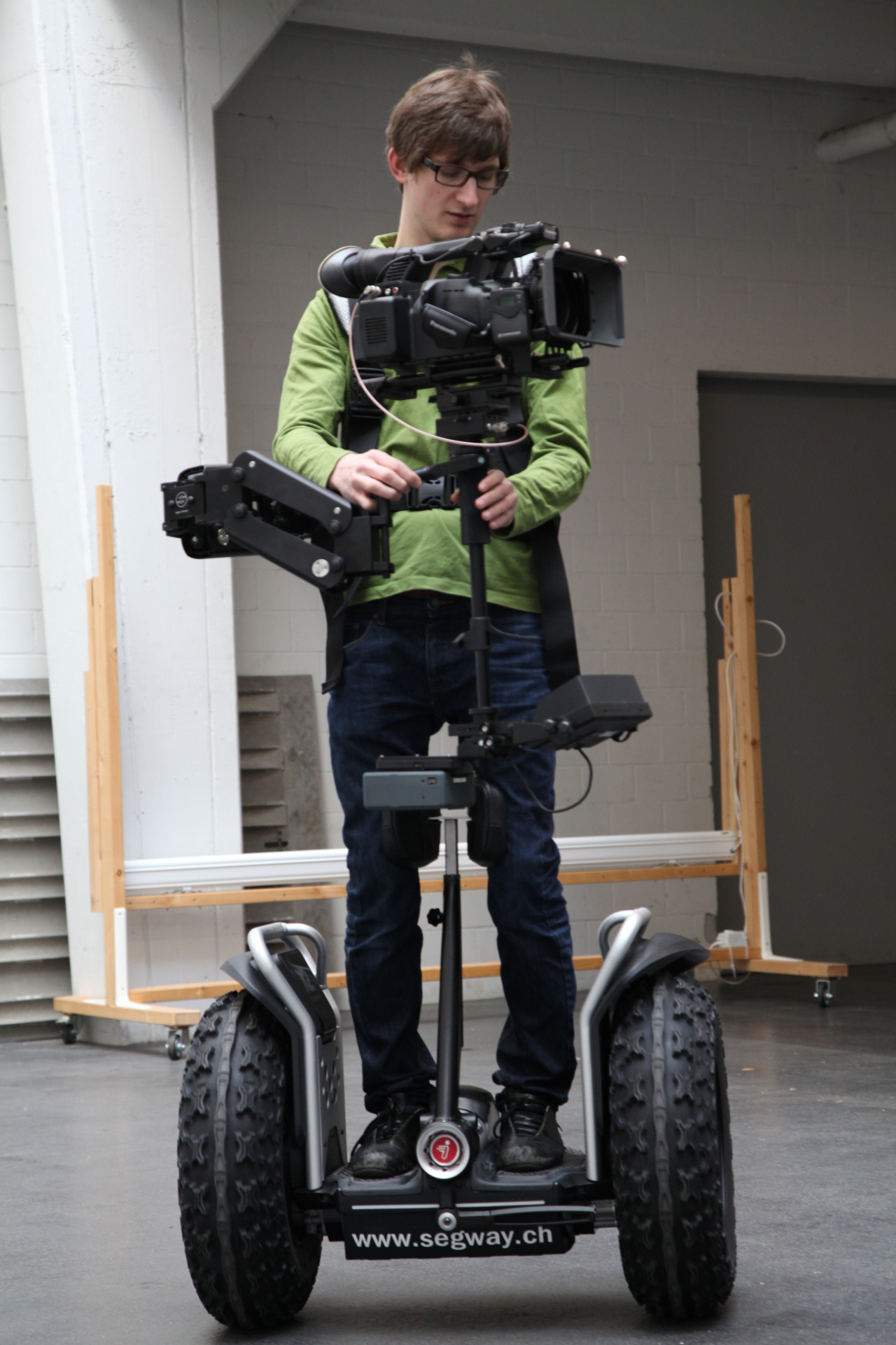 Segway + Steadicam tryout shots