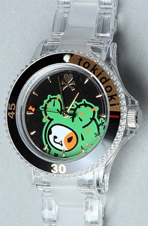 sassynpunk:  Tokidoki Bastardino Wrist Watch! Comes packaged in cool Tokidoki gift box! Limited supply!! Get it now at www.sassyNpunkBoutique.com