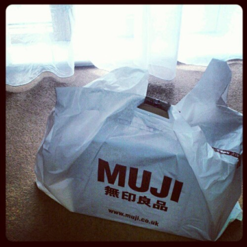 Home shopping…5% complete #interior #muji #design  (Taken with instagram)