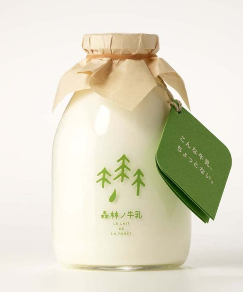 Package Design Geekery - Forrest Milk Seriously, why cant all milk be this adorable? Doesnt it look like it was made by Kodamas or something? The Lovely Package says: The cows which produce this milk are free to roam an unused forest all year round. Forest Milk was designed by Rise Design Group in Japan. read more