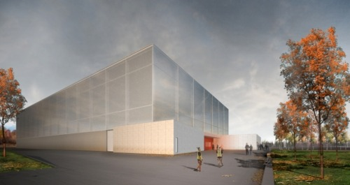Syracuse University Football Training Facility by Bernheimer Architecture
