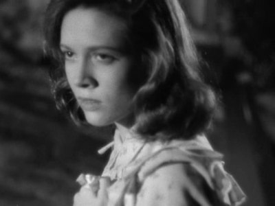 Cathy O'Donnell in The live by night (N. Ray)