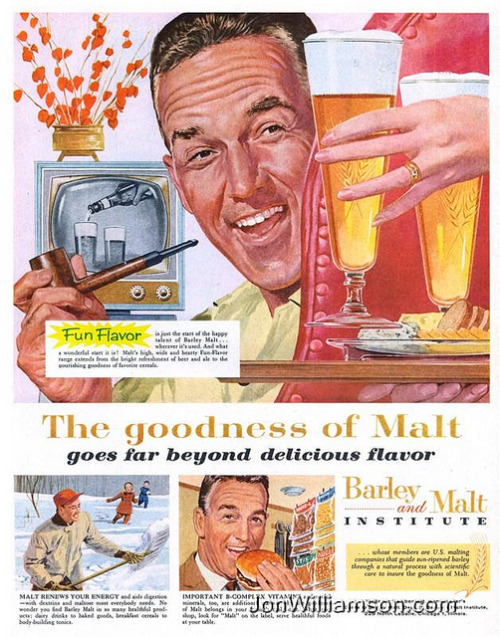 oldads:  Barley and Malt Institute - 19590202 Life on Flickr. Website | Flickr | Tumblr | Twitter