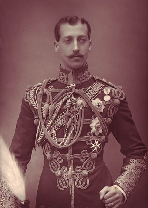 theoddmentemporium:  Prince Albert Victor, Duke of Clarence (1864-1892) Photo: 1891.