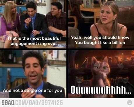 9gag:  Ross trolling like a boss