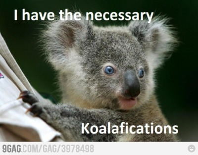 9gag:  Applied for a job in Australia