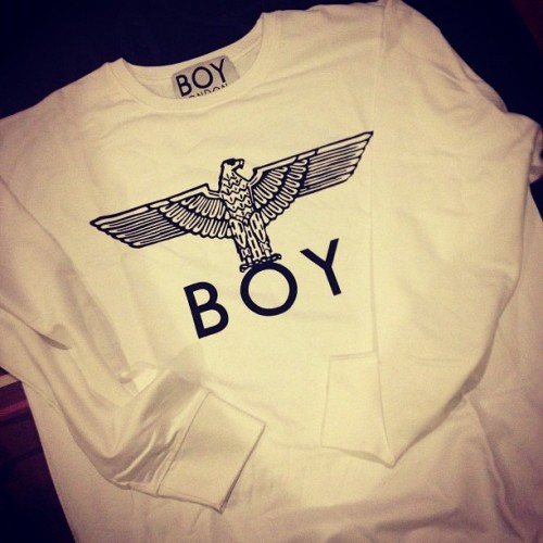 Look what i got in the mail today! BOY LONDON! #bigbang #boylondon #apparel #sweater #kpop #fashion #london #korea #style #music #indie (Taken with instagram)