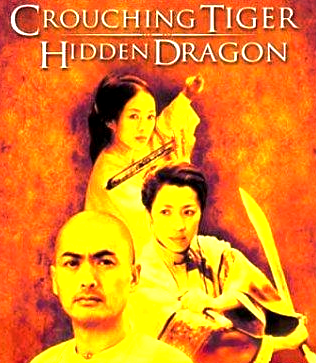 Crouching Tiger, Hidden Dragon How did this mediocre movie get such a high rating on imdb and win so many awards? I have so many issues with this movie. First, it's so blockbuster to cast very famous but not Chinese (from China, not HK or Malaysia, etc) actors/actresses in this movie. I'm complaining about Michelle Yeoh in particular, because most of the time, Chow Yun Fat's Mandarin was understandable. Michelle Yeoh's is sooooo accented, it's almost like she didn't even practice. It's like a foreigner speaking Mandarin. I blame the director for not dubbing her lines into the correct accent. I'm sure Michelle is a great actress when she's not speaking Chinese, but in CTHD, she's not very good.  Is it me, or did Zhang Ziyi steal the show? Compared to the other leading actors/actresses, she was the most interesting and least lame. Maybe if Li and Yu (Chow Yun Fat and Michelle Yeoh)'s characters were taken out of the story, it wouldn't be so bad. Seriously. Little Tiger (or Cloud or whatever) and Little Dragon (um…)'s story was so much more interesting. Like once the flashback started, the movie stopped sucking majorly. Then, the acting was sooo awkward in some places. Inconsistent. Like they're talking about some Very Important Stuff and taking things Very Seriously, but the script (especially in the beginning) is lame. It seems like much more effort was put into the action and fighting sequences and flying. Which is okay, but then why do they have to treat the talk-y parts like they're so ~serious~?  Too ambitious. Yo Yo Ma for the cello solos. The soundtrack is nothing standout most of the time, and so they thought having this famous Chinese cellist would make Chinese people patriotic and interested in watching this. Huh.  Fox Witch lady flies away with that ribbon thingy like the ribbon dance. WTF? Guy with thick eyebrows gets knocked on the forehead with his own weapon a few times when the thief first shows up, and he's perfectly fine. Okay….? Little Dragon's face looks very very tanned when she's pursuing Little Tiger after the ambush. I thought it was a fast-forward of a few weeks instead of the dirt sticking to her face. Basically, an overrated Chinese action flick. I'll ask what my parents think. I was really looking forward to watching Crouching Tiger, Hidden Dragon today (because it got such a high rating on imdb and that must mean it's at least decent, right?), and wow, I should never look forward to anything directed by Ang Lee again. This is the second movie he's directed that I've seen (the first being Sense and Sensibility), and I guess I just don't like his direction. So why do my parents like him so much again? Oh yeah, cuz he's Taiwanese.