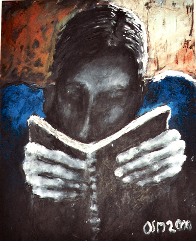 The Reader by Osmanart