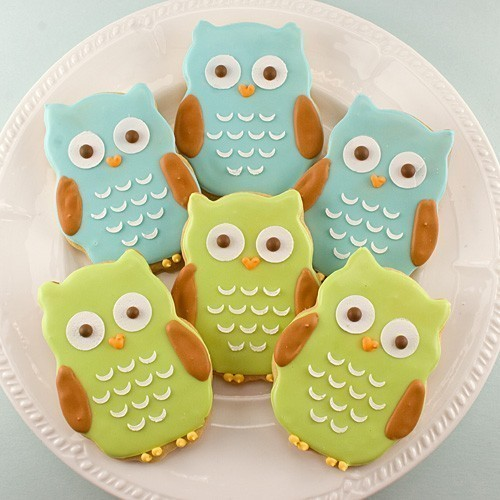 What a hoot! These owl cookies are adorable and look super delicious too! With this owl shaped cookie cutter you can make your own! Just use a basic sugar cookie recipe and some colorful icing. Yum! Try your hand at some owl cookies with success? Great! Email your story and pics to owlstoponline@gmail.com and we'll post about it!