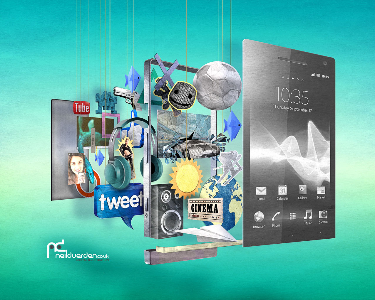 rawbdz:  Sony Experia advert