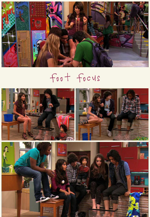 TV TROPE: Foot Focus  Trina: Like a baby's butt, right? (1x12: Cat's New Boyfriend)