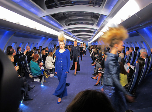 CHANEL Loving the runway for the 2012 Spring Haute Couture collection