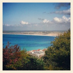 A view worth turning the car around for! (Taken with Instagram at st ives)