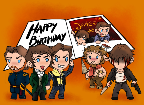 blktauna:  supernoux:  I'll start with this card I made for JAM Bday. Ok, it's late but I tweeted it in time at least. And I need to post something anyway to start this blog!  so coooot!  /death by cuteness.