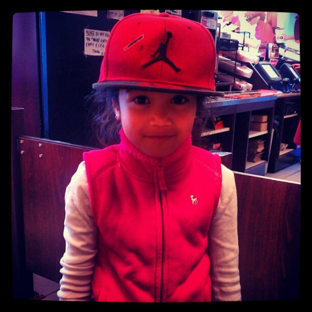Pretty girl Swag! #TeamYungAzLaN (Taken with instagram)