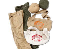 STUSSY – BURLYGEAR COLLECTION