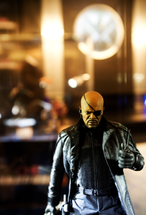 The Avengers Figure Shot - Nick Fury.