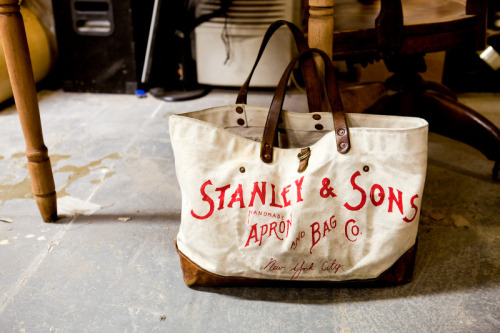 anchordivision:  The Makers - Stanley & Sons Apron and Bag Co.