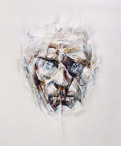 Image of Samuel Beckett by Louis Le Brocquy  RIP.