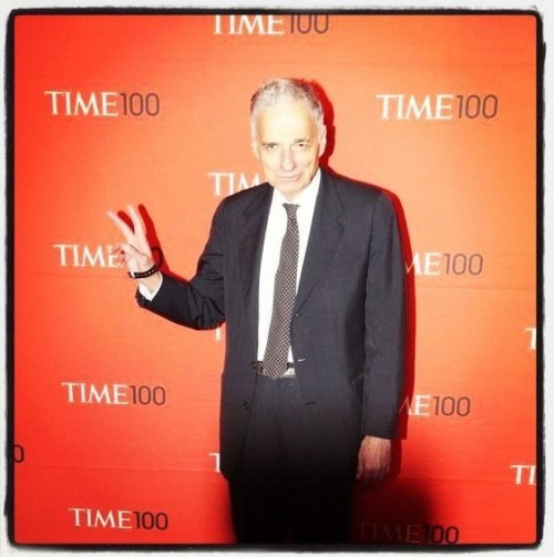 Peace. Love, Ralph Nader. See more photos from the TIME 100 Gala here.