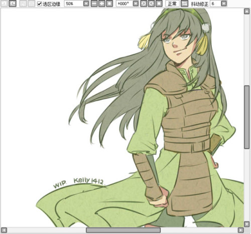 "cheiflinbeifong:  stayflaminsifuhotman:  the-avatar-nation:  ""Master Toph.""  She stills has her headband! What a cutie.  I. Fucking. LOVE. Her. she's a badass and she knows it."