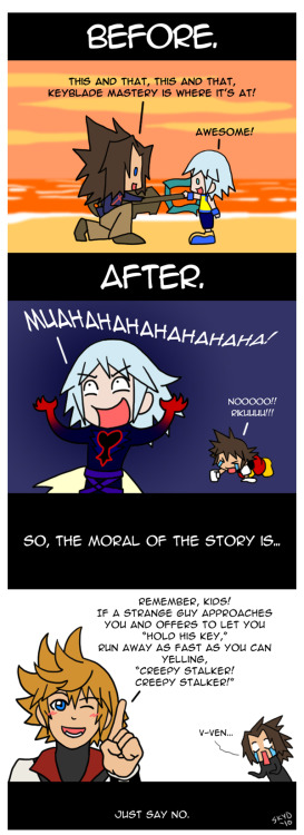 KHBBS - Just Say No. SPOILERS by ~KimYoshiko Hmm…sound advice.