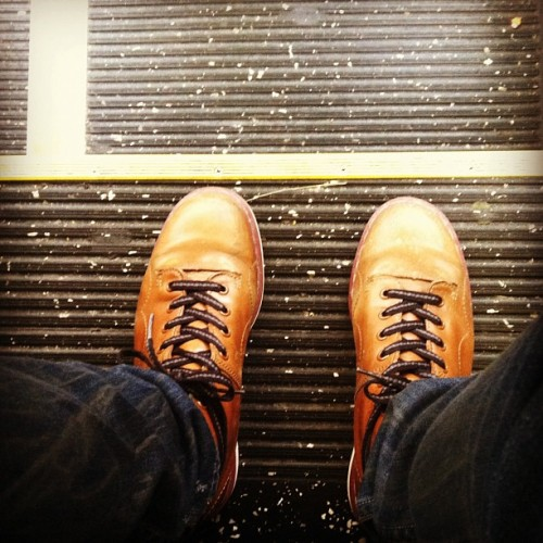 boots #instaderby #work #style (Taken with instagram)