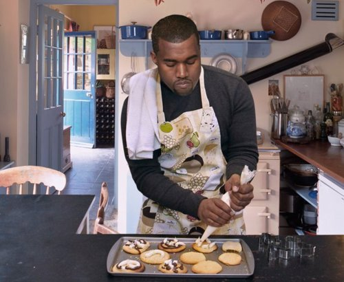 """Bey what'chu cooking? Smells like it's burning a little.""  ""I'm not cooking, that's just Ye in the Kitch-DAMN I LEFT YE IN THE KITCHEN!!"""