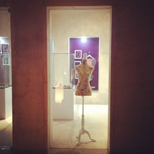 Loving the new vintage mannequins at @laboutique92 #bahrain (Taken with instagram)
