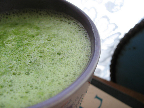 Quick & Easy Healthy Green Drink Recipe