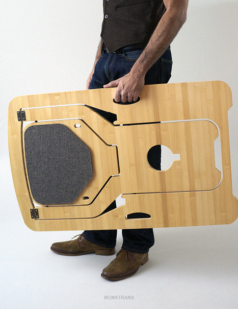 (via Folding Chair by Leo Salom)