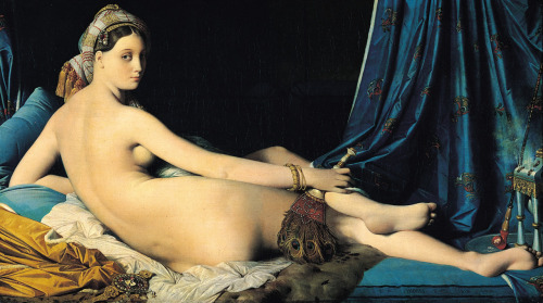 artandopinion:  The Grand Odalisque 1814 Jean Auguste Dominique Ingres