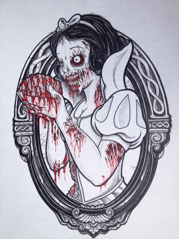 (via Zombie Disney Princesses | thaeger - blog this way)