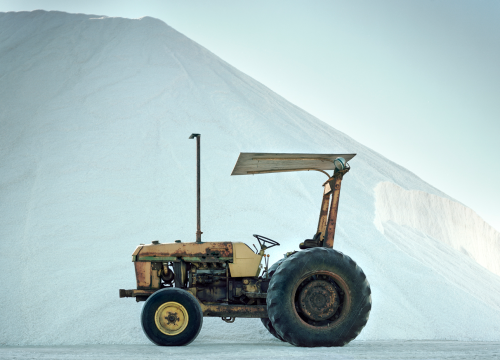 Salt and Tractor, Chula Vista, California from Stops Along The Way Mark Yaggie