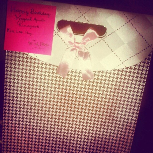 #especially #gift #instaglove #instagdaily :) (Taken with instagram)