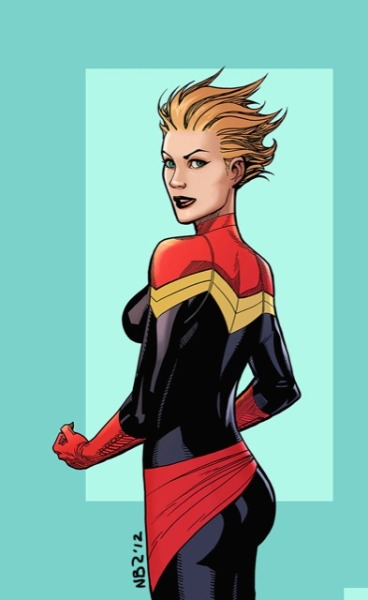 kellysue:  Nelson Blake II's Captain Marvel (via @nelsonblake2 Nelson Blake II's Photo | Lockerz)