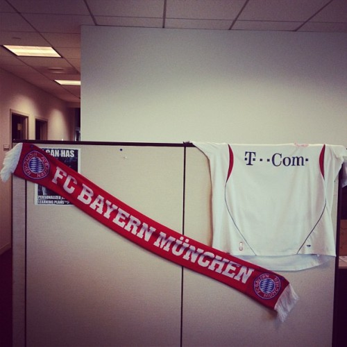 Champions League Fever #FCB #UCLonFOX (Taken with instagram)