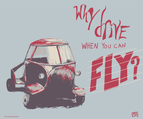The future is now! You can fly, you can drive, you can do both with the Stout Skycar! Stuck in traffic? No problem with this little Skycar, just pull over, assemble the wing, latch everything in place and 10 minutes later, if you can an open area longer than two football fields, you too can take off in style! Screencast link : HERE