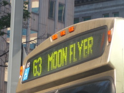 This is one of the more awesome-ly named bus routes in my city…