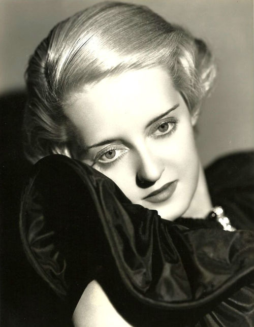 screengoddess:  Bette Davis 1930's - Photo by Elmer Fryer