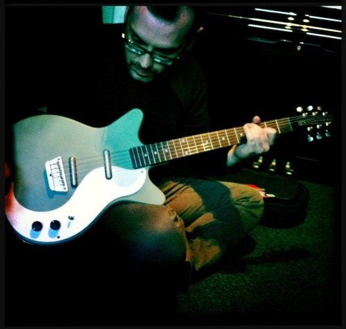 The best of times when I play my Danelectro 59 guitar. Keen Green color, rosewood fingerboard and ultra cool design! The lipsticks alnico magnets sound fantastic, too.