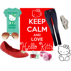 hello kitty by cvillanueva featuring a nail lacquer