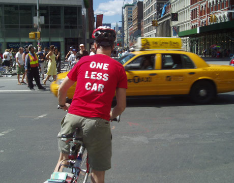 This was an idea for the CarLess in L.A. T-shirt.  I want one of these!  I think it's great…. But the idea is already taken…  Hmmm.  What else can we come up with the get the message out BIG? Photo Source